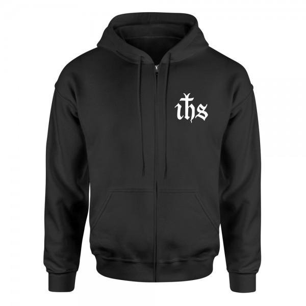 Kapuzenjacke IHS – schwarz