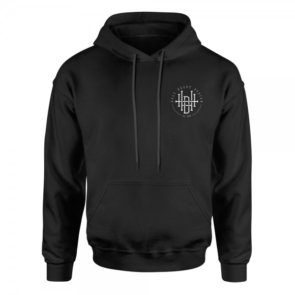 Hoodie Logo – schwarz