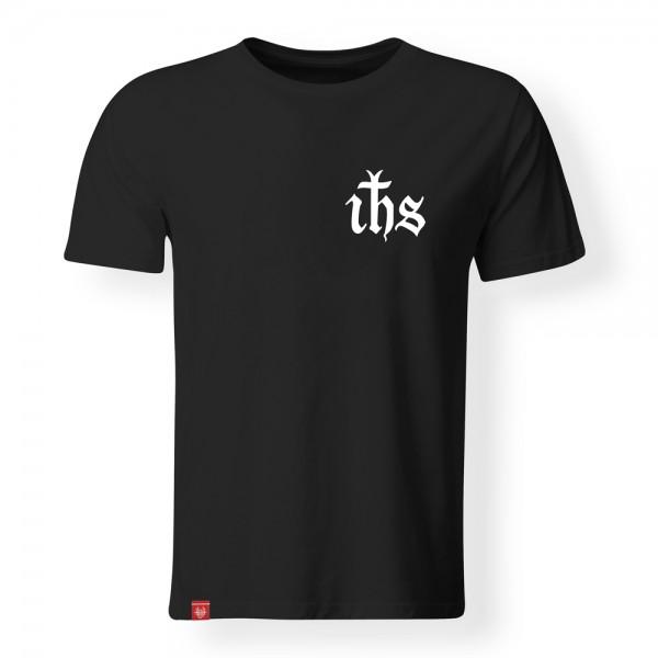 T-Shirt IHS – schwarz