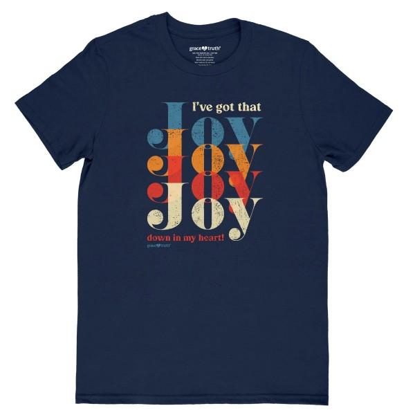 JOY Joy Joy – grace & truth ® Girlie-Shirt