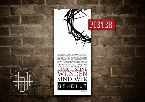 Durch seine Wunden sind wir geheilt [Poster]